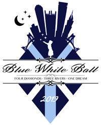 Blue White Ball